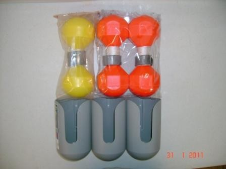 3- Buoy Holder With 3-Buoys