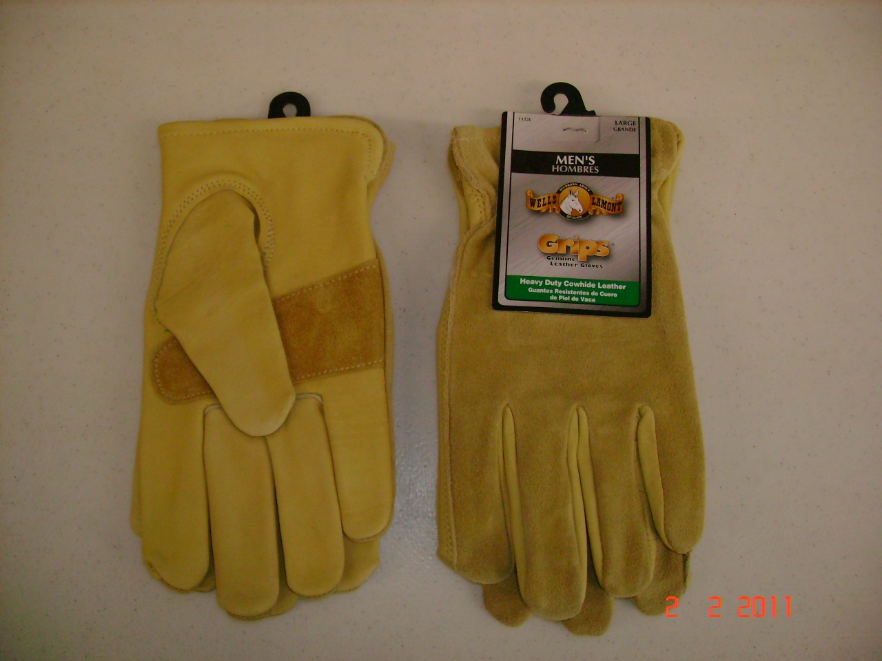 Grip Heavy Duty Cowhide Leather Gloves