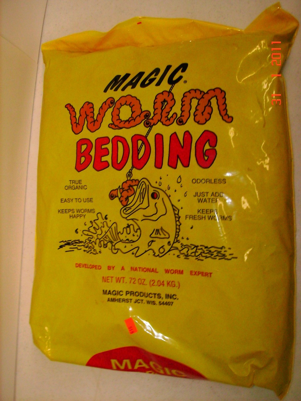 Magic Products Worm Bedding