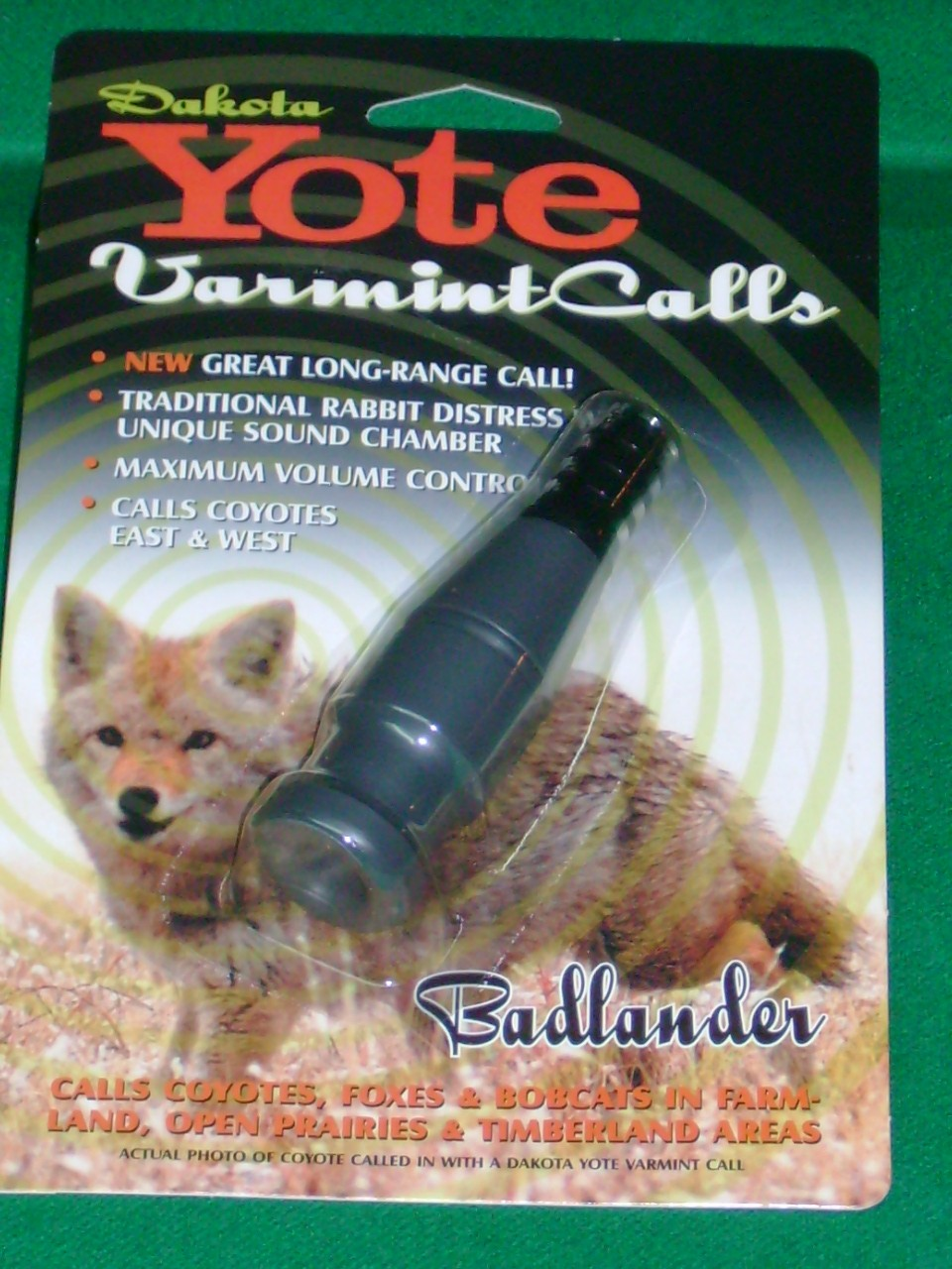 Dakota Yote Call - [ Badlander ]