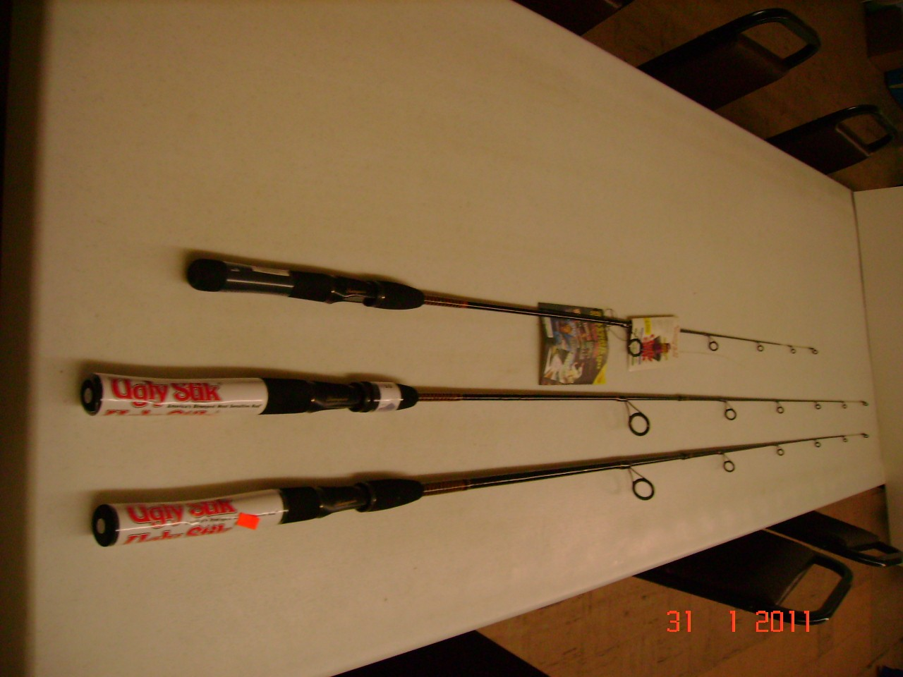 Shakespeare Ugly Stik Rods