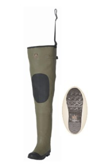 Proline Rubber Hip Boot Wader