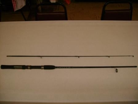 PEREGRINE DLX.BLK SPIN ROD 6'