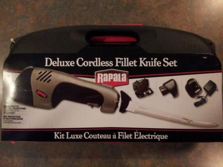 Rapala Cordless Fillet Knife [2-Batteries]