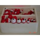 Plastilite Red & White Bobbers 5 & 6-Packs