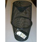 Black Coated Wire Minnow Trap