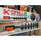 "K-DRILL Ice Drill 7.5"" Auger Assembly IDRL75 [Same as the former 8""-IDRL08] For Ice Fishing USA Made"