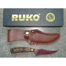 RUKO RUK0081 Knife and Sheath